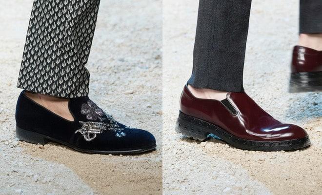 cf6dc8f37eda4 Dalle scarpe eleganti agli scarponcini artigianali fino alle calzature da  sera o originali. La collezione scarpe uomo inverno 2017 di Dolce Gabbana  con gli ...