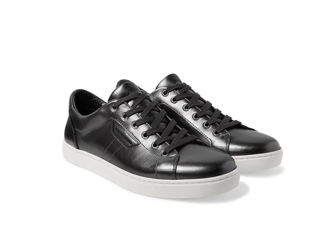 D&G sneaker uomo metalliizzate