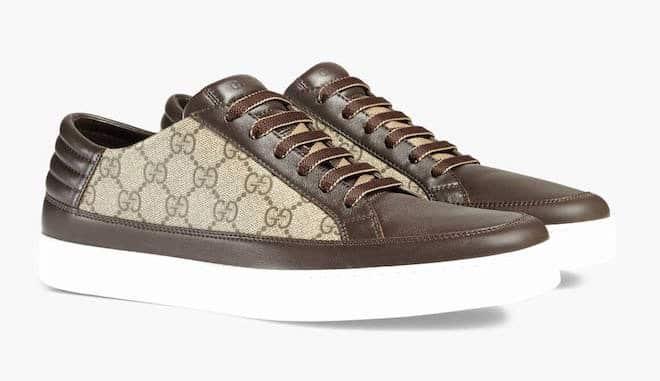 scarpe-sportive-tessuto-pelle-uomo-gucci 31c14e25473b