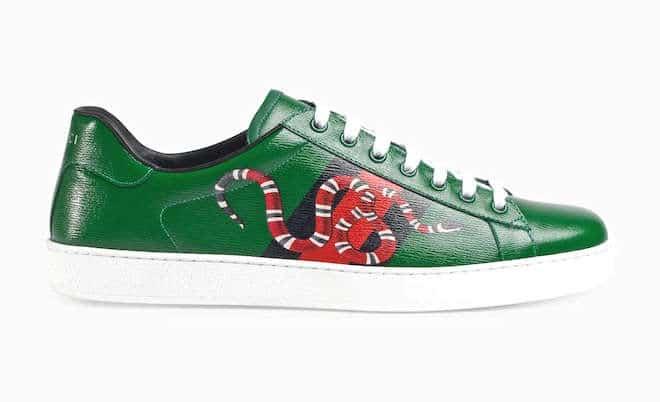 sneaker-uomo-in-pelle-verde-gucci