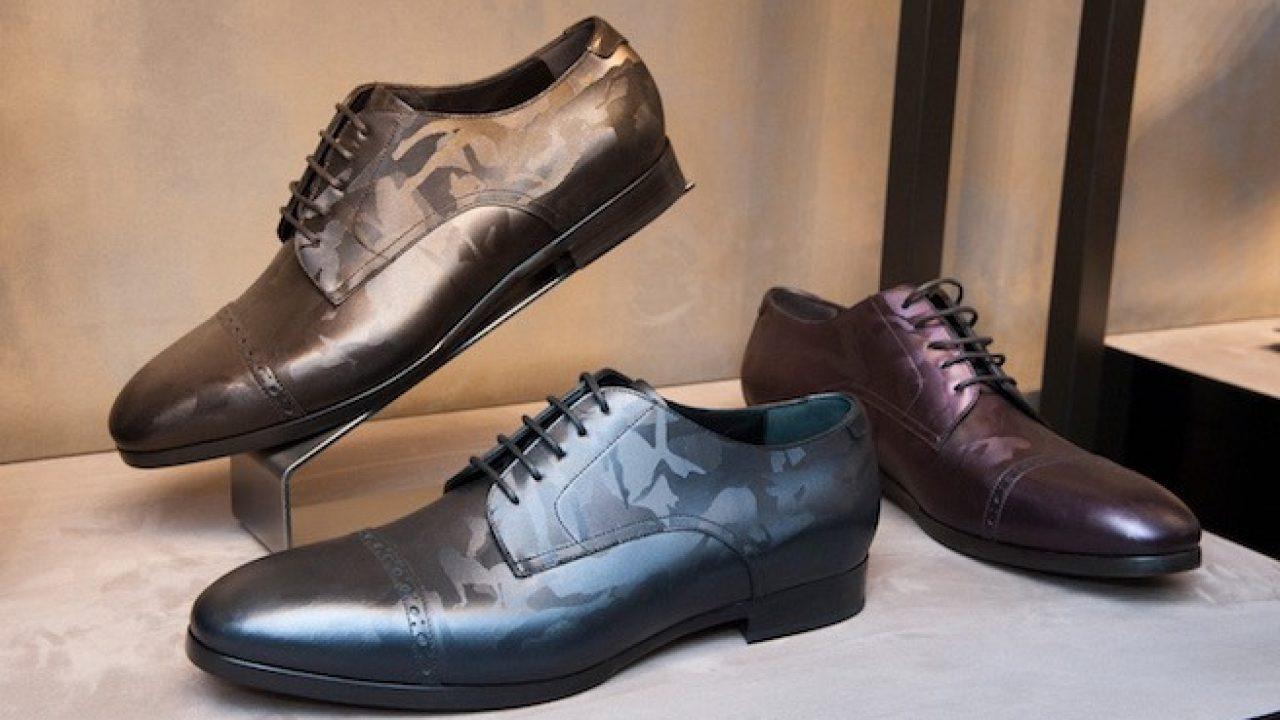 Jimmy Choo scarpe uomo autunno inverno 2017 2018. La