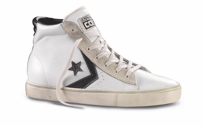 all star alte di pelle