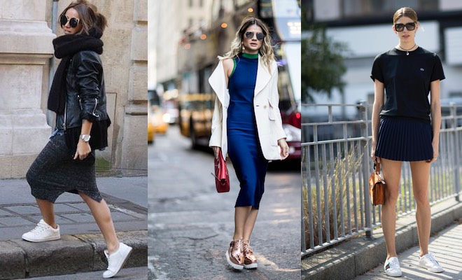 donna-sneakers-vestiti-street-style-2016