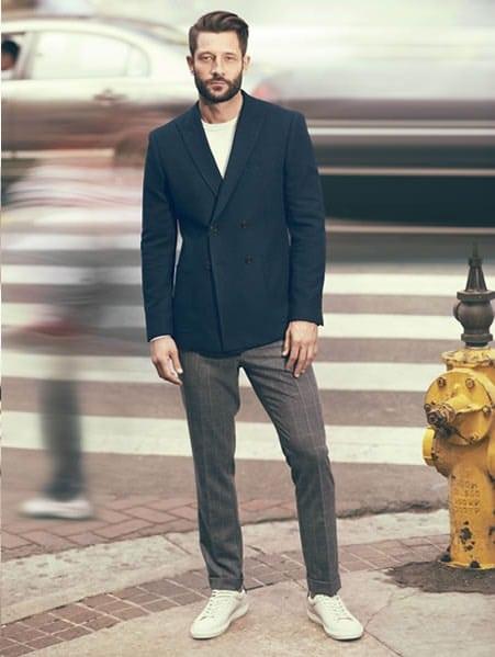 Outfit Matrimonio Uomo Spezzato : Moda uomo scarpe bianche come abbinarle alte