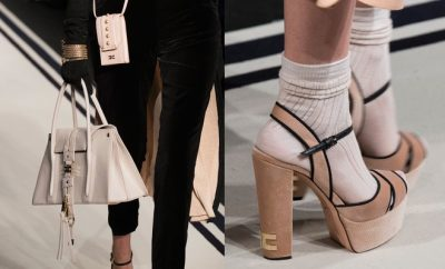 elisabetta Franchi scarpe borse inverno 2017-2018