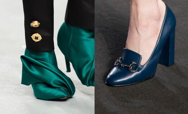 Le scarpe che vanno di moda a Londra A I 2017-2018 - Scarpe Alte ... f887a90b253