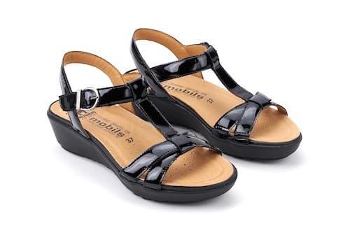 mephisto sandali neri