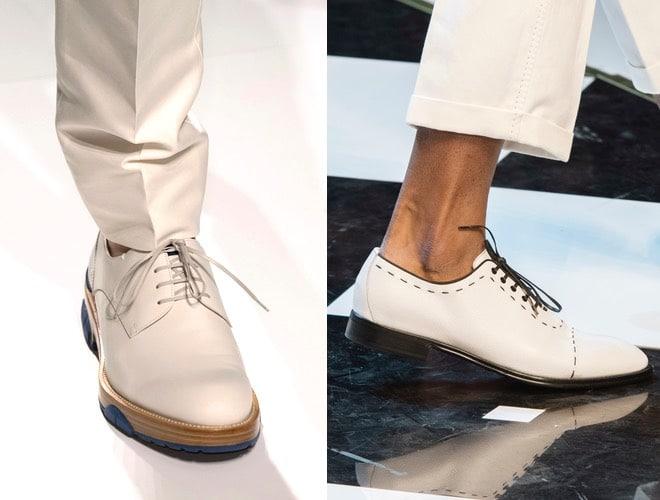 pantaloni bianchi scarpe bianche