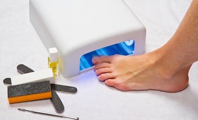 gel unghie piedi