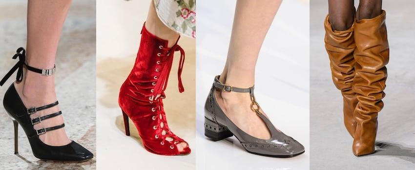 scarpe moda donna autunno inverno 2017-2018