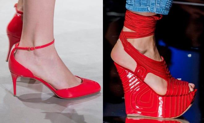 disponibilità nel Regno Unito 6b4c9 50de7 10 scarpe rosse per l'estate 2017 - Scarpe Alte - Scarpe basse