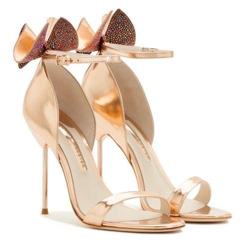 scarpe di separazione 7f60c b35af Scarpe oro da cerimonia per la primavera estate 2017 ...