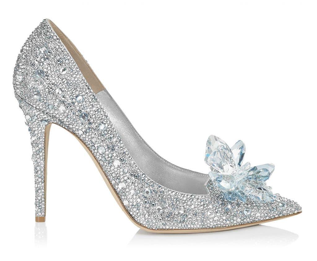 bbf12074dc7c5 Jimmy Choo Avril 100 (Cinderella Slipper). Prezzo  3.495 euro
