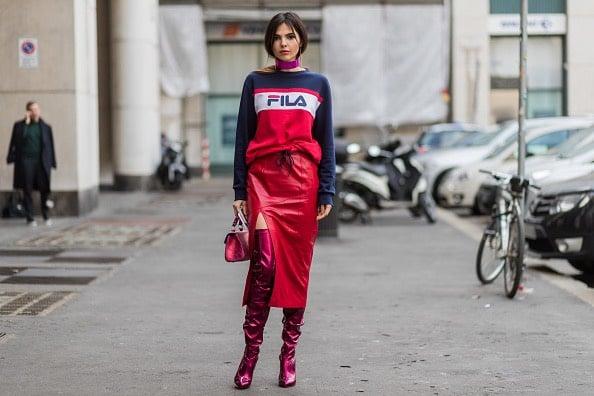 Doina Ciobanu street style Milano 2017