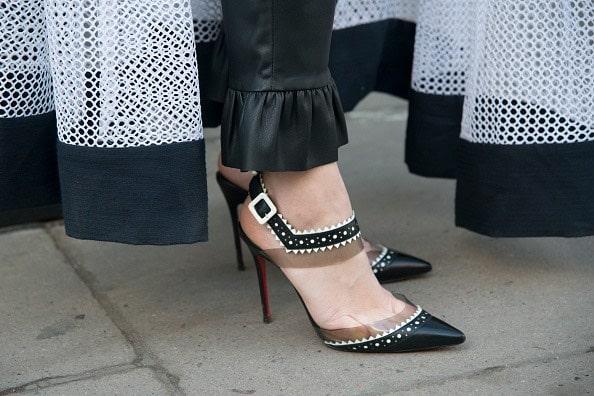Rosie Fortescue street style scarpe louboutin
