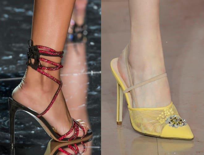 Scarpe eleganti Alta Moda per matrimonio