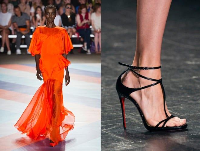 abito e scarpe eleganti estate 2017