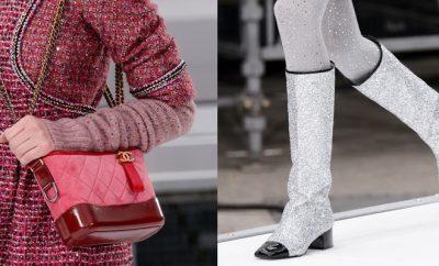 borse scarpe chanel inverno 2017-2018