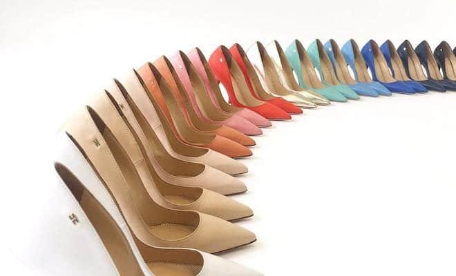 ... le scarpe della primavera estate firmate Elisabetta Franchi sono quasi  tutte con tacchi alti. decolllette Elisabetta Franchi 2017 9f6cda39c64