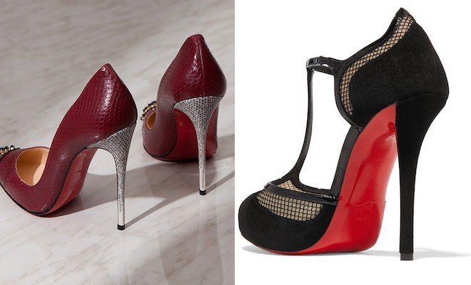 decollete louboutin scontate