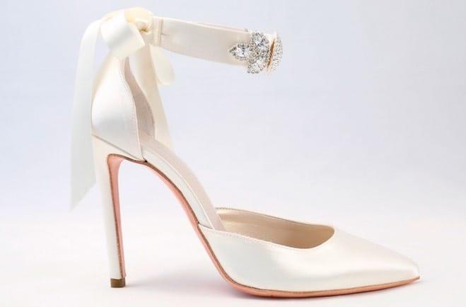 scarpe sposa 2017 in raso alessandra rinaudo