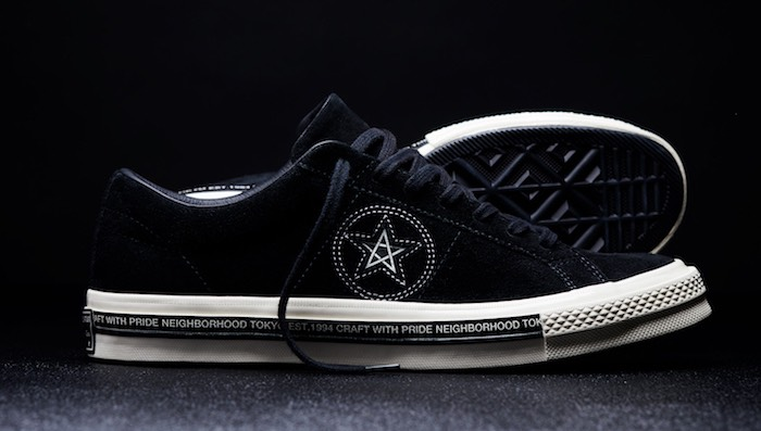 Converse One Star camoscio nero primavera estate 2017