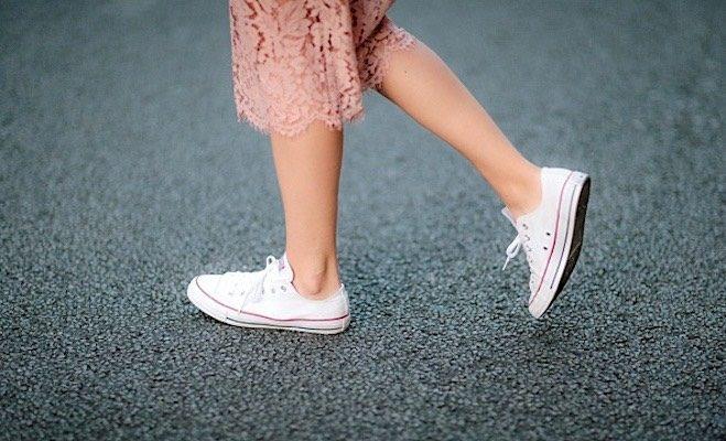 Street Style abbinare le Converse