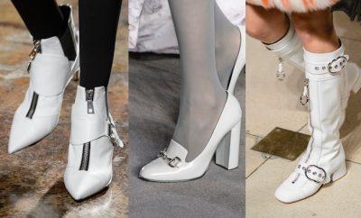 Scarpe bianche donna inverno 2017-2018