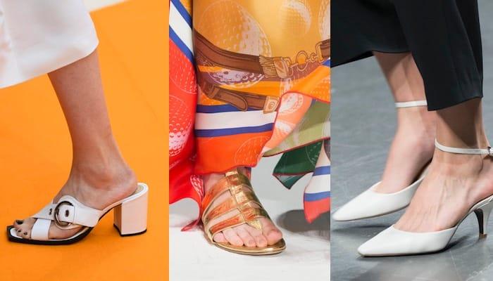 Scarpe estive per abiti lunghi