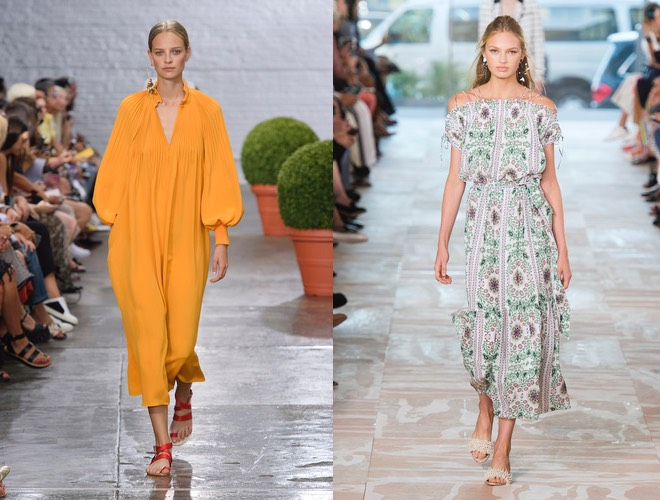 abiti lunghi donna moda estate 2017
