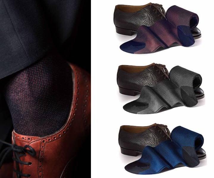 calze scarpe uomo eleganti-abbinamenti