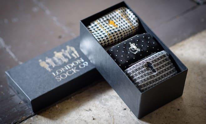 london Socks Company calze uomo lusso
