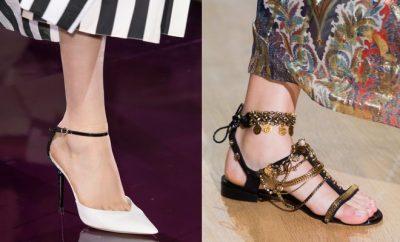 scarpe alte o scarpe basse moda per abiti lunghi
