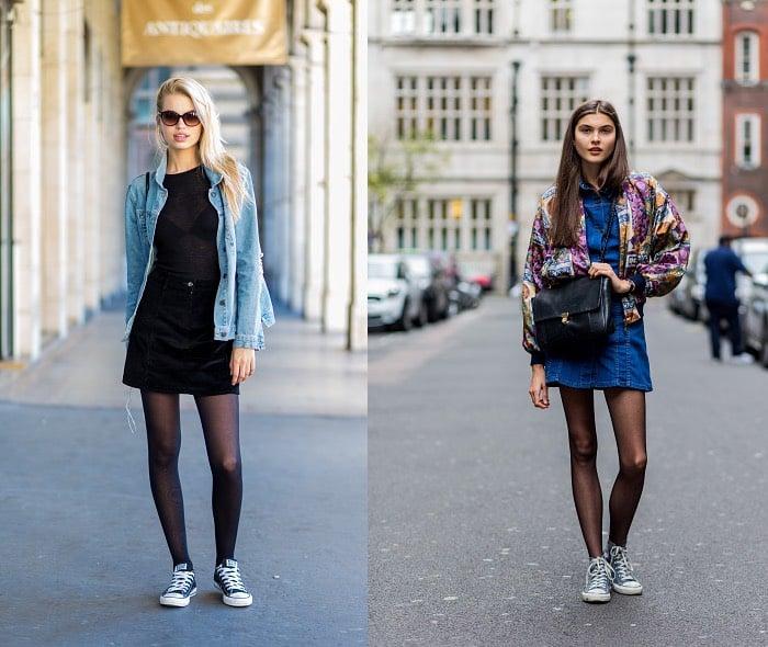 street style abbinamenti scarpe Converse