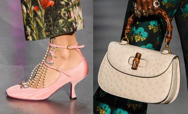 Gucci donna la collezione scarpe e borse autunno inverno 2017-2018 ae87d5e6733