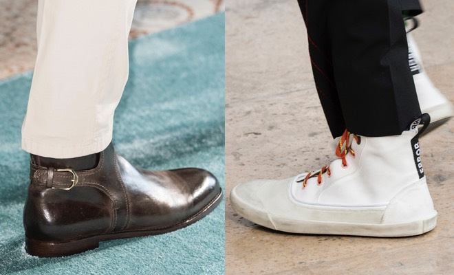 pretty nice dbf46 d169e Scarpe alte uomo per l'estate: sneakers, polacchini e ...