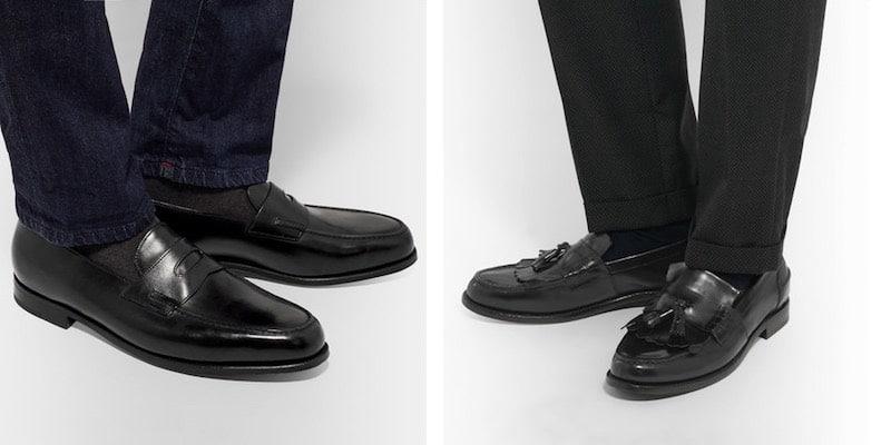 mocassini uomo abbinamento calze