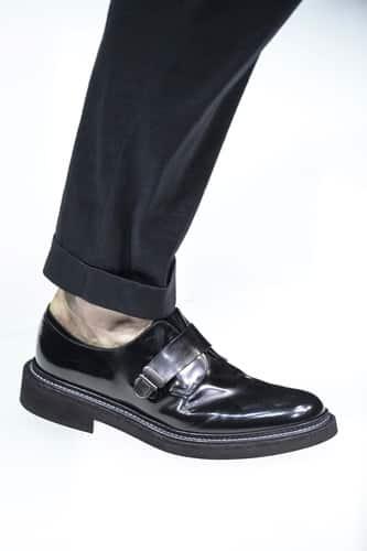 scarpe nere uomo giorgio armani estate 2018