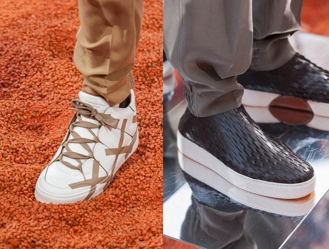 Scarpe alte scarpe basse Zegna estate 2018