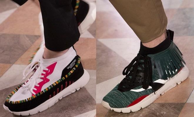 Valentino scarpe uomo primavera estate 2018. Sneakers calzino per la  collezione primavera estate 2018 di ... 77d3935297d