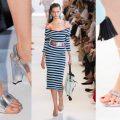sandali argento nuovi abbinamenti moda