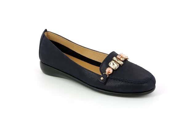 scarpa-donna-pelle-blu-grunland
