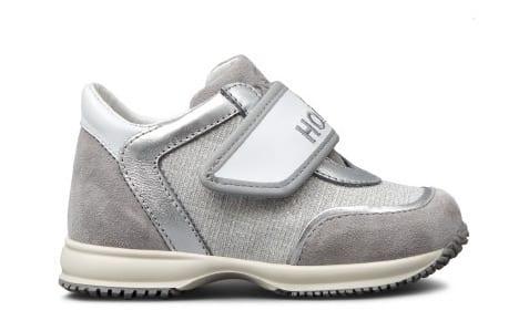 scarpe hogan con velcro bambina