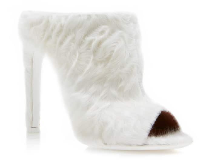 scarpe in pelliccia inverno 2017-2018 givenchy