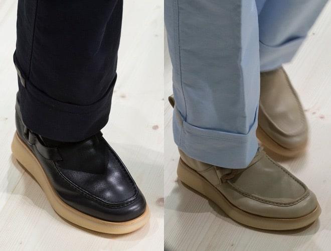 scarpe uomo Ferragamo primavera estate 2018