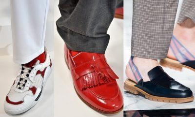 tendenze scarpe uomo primavera estate 2018