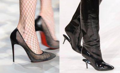 Scarpe stivali neri donna A-I 2017-2018