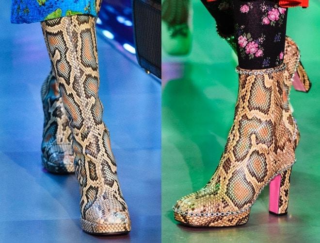 Stivali stivaletti Gucci donna 2018