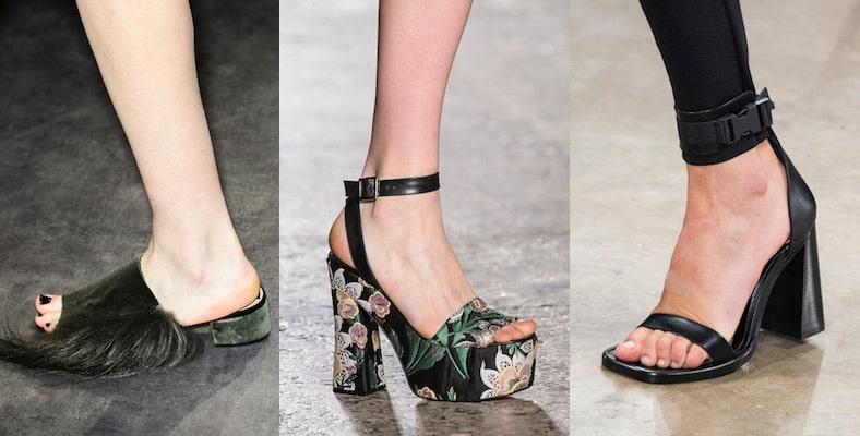 sandali pantofole donna inverno 2018