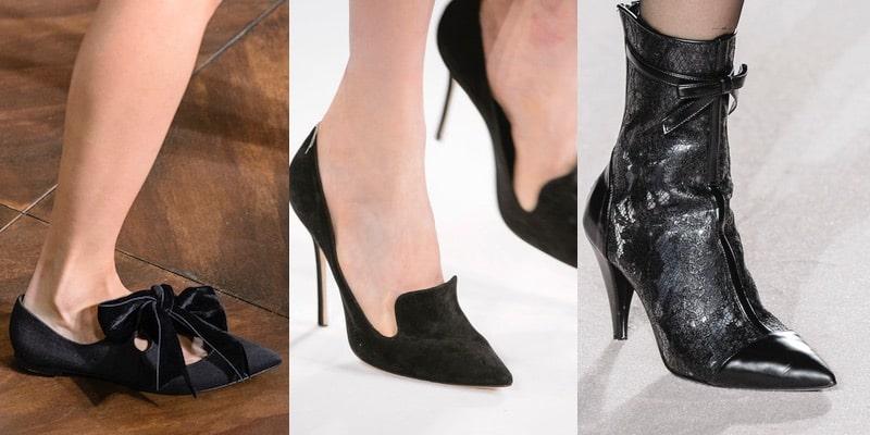 scarpe nere donna invernali moda 2018